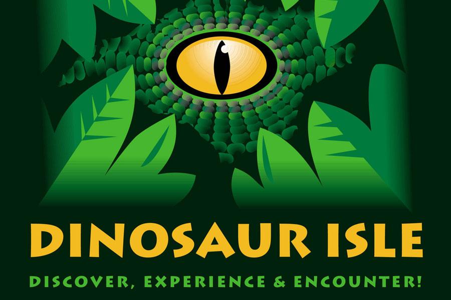 Dinosaur Isle Museum logo