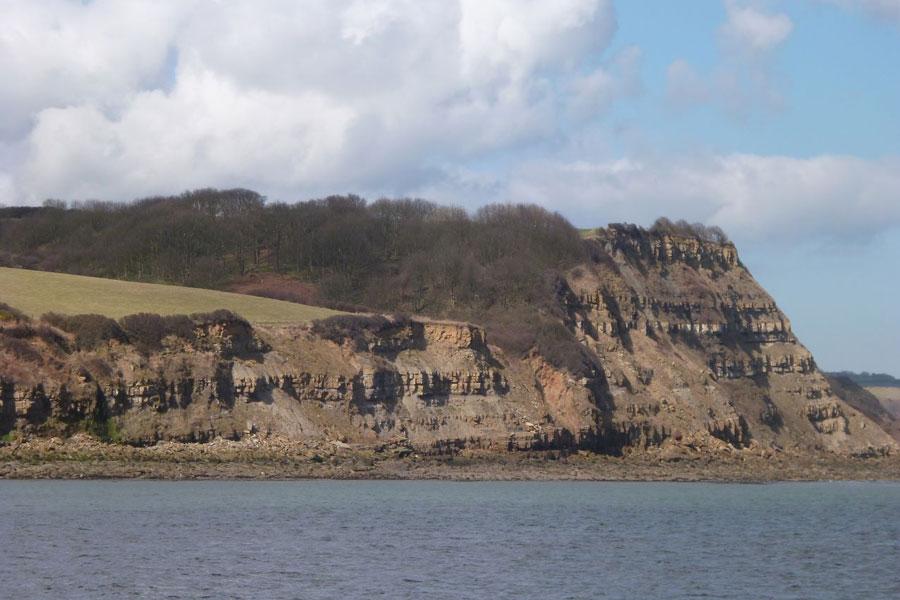 The North Yorkshire coastline