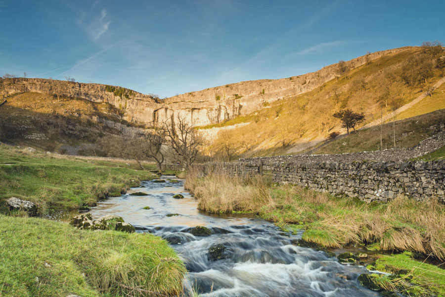 The spectacular scenery of Yorkshire